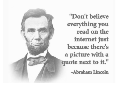 Lincoln and the Internet